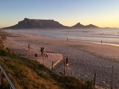 Table Mountain, Most Beautiful Cities, Cape Town, Wonders Of The World, South Africa, African, City, Beach, Water