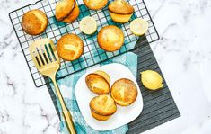 Did you know that you can use cake mixes for a baking head start on many baked treats? This is my favorite short cut for many cookies, breads and muffins as well as cakes and a perfect way to bake a delicious treat even with limited ingredients. These easy lemon cake mix muffins are the perfect weekend treat or after school snack. Use a lemon cake mix with a few other basic ingredients to make them for your family.