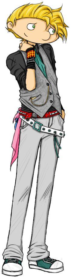 Arnold Harajuku-fashion Color by Panfla.deviantart.com on @deviantART