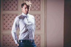 Shirt CK 129ron Jeans D&G 149ron Belt Gucci 59ron