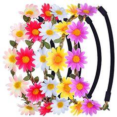 eBoot Multicolor Daisy Flower Headband Crown with Adjusta... https://www.amazon.com/dp/B01MFB1WND/ref=cm_sw_r_pi_dp_x_pk25zbJ1Q6ANH