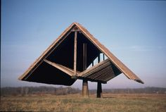 Floating Roof (1970) by Oton Jugovec (1921-1987) Slovenia.