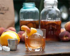Peach Bourbon Old Fashioned   The Peach Truck