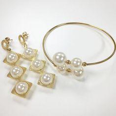 Set By Vila Veloni Always Lovely Pearls Bracelets