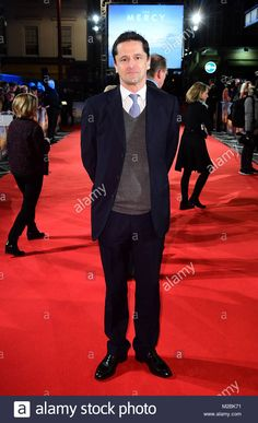 Peter Czernin attending The Mercy premiere held at the Curzon Mayfair, London. Stock Photo Mayfair London, Hold On, Stock Photos, Image, Naruto Sad
