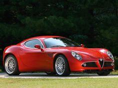 Alfa Romeo 8C Competizione V8 4.7 450 ch (2007)