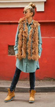 Fur Coat, Hipster, Vest, Jackets, Outfits, Style, Fashion, Down Jackets, Swag