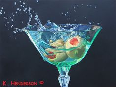 Martini Splash by K Henderson by K Henderson on ARTwanted