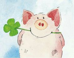 Items similar to One Pig Family x 11 Fine Art giclee print -Cute and Fun Family with beautiful happy colors on Etsy Pig Illustration, Illustrations, Pig Crafts, Pig Art, Cute Piggies, This Little Piggy, Happy Paintings, Cute Drawings, Cute Art