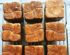 La nueva tendencia en Suecia: los croissants cuadrados Croissants, Travel And Leisure, Banana Bread, Desserts, Food, Squares, Sweden, New Trends, Tailgate Desserts