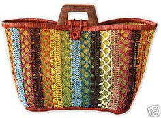Mad Imports Ile St Marie Crochet Raffia Tote Bag: OtherBags: WorldofGood.com by eBay