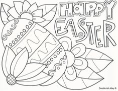 Easter Bunny Coloring Page Free Printable Easter