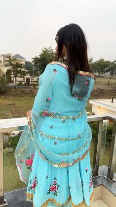 Punjabi Salwar Suits, Patiala Salwar, Punjabi Wedding Suit, Wedding Suits, Party Wear Indian Dresses, Designer Party Wear Dresses, Wedding Dresses For Girls, Indian Fashion Dresses, Indian Designer Outfits