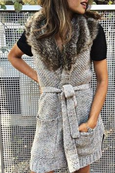 Collared Sweater Vest by Angel of the North | Pinned by topista.com