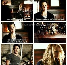 #TVD 6x09 Tyler in the rescue for Liv against Kai