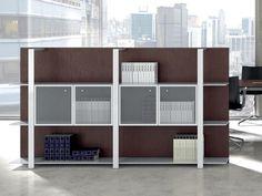 Gebruik een kantoorkast als roomdivider