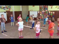 Rozcvička - Šlapu si to do školky - YouTube Aerobics, Zumba, Musical, Fun Games, Kindergarten, Activities, Workout, Tv, Children