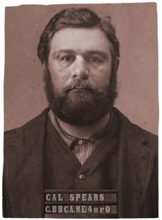 If I got arrested in 1864 #NYC, this would be my #mugshot. http://c.bbca.me/4mr0 Try the app yourself (via @CopperTV and @BBCAmerica)