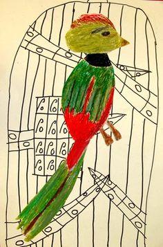 Caged Quetzals