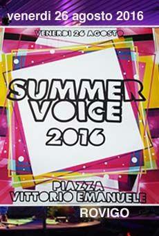 Summer Voice - concorso canoro, quarta edizione. Tutti i tuoi eventi su…