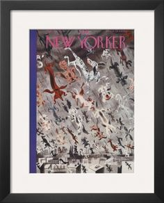 The New Yorker Cover - April 4, 1936 Framed Giclee Print