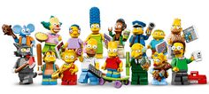 The New 16 Lego Simpsons