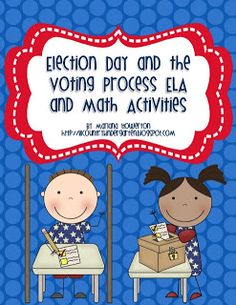 Election Day and Voting Process ELA and Math Mini Unit Voting Process, Election Process, Life Skills Activities, Math Activities, Student Teaching, Teaching Election, Teaching Ideas, Election Day, November Election
