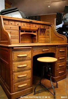 New Vintage Study Desk