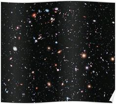Nasa has released the deepest-ever view of the Universe. This image, called XDF was created over 10 years by the Hubble Space Telescope and is an amazing indication of the size and scope of space. Telescope Pictures, Hubble Pictures, Hubble Photos, Nasa Hubble Images, Hubble Galaxies, Astronomy Pictures, Nebulas, Cosmos, Fotos Do Hubble