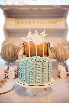 Gorgeous CAKE at a Cinderella Ballet Themed Birthday Party via Kara's Party Ideas KarasPartyIdeas.com Cake, decor, invitation, tutorials, recipes, banners, and more! #cinderella #cinderellaparty #balletparty #cinderellaballet #balletpartyideas #cinderellapartyideas #partystyling #partyplanning #cake