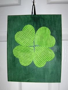 Mule 'n Nag Crafts: Quick 'n Easy: St. Pat's Decor