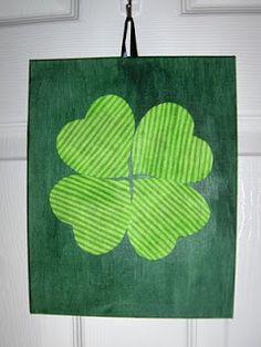 Mule 'n Nag Crafts: Quick 'n Easy: St. Pat's Decor