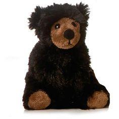 5 Aurora Plush Black Teddy Bear Stuffed Animal Toy Soft Cuddly Small New   eBay