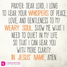 Daily Devotional -Whispers of God: http://daughtersofthecreator.com/whispers-of-god/