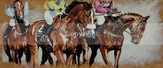 'BRING EM ROUND' - Equine