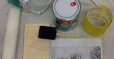 KUVANSIIRTO PUULLE    Kiva-lakalla     Tarvikkeet:       -lautaa, vaneria yms. puulevyä        -hiekkapaperi        -laserprintattu kuva  ... Diy And Crafts, Woodworking, Decor Ideas, Drawings, Repurpose, Creative, Sketches, Carpentry, Drawing