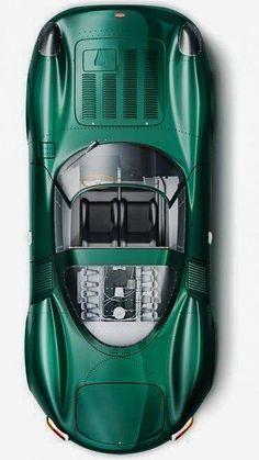 1966 Jaguar XJ13 V12 Prototype Sports Racer.