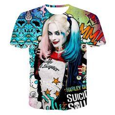 e000340cf72b 3d Suicide Squad T Shirt s - 7 Style s Suicid Squad