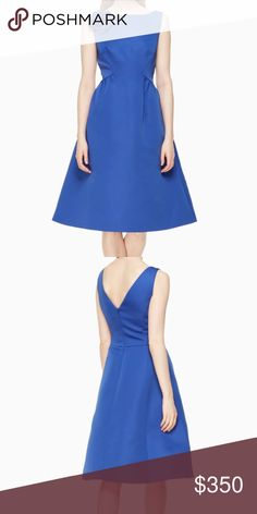 v-back structured dress brand new, still in original plastic wrapping. kate spade Dresses