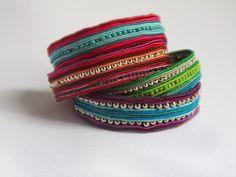 elcuadernodeideas, heeeeey, die lijken op mijn É-bracelets!! Er zitten alleen geen schakels tussen!