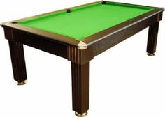Florence Black Pool Dining Table   6ft, 7ft - £1069.00