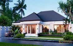 Desain Rumah Bapak Marno @ Jambi by Emporio Architect Architect Logo, Architect House, House Plans Mansion, Bali House, Modern Properties, Construction, Location, Interior Styling, Villa