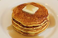 Fresh Corn Pancakes - Oh Yum!