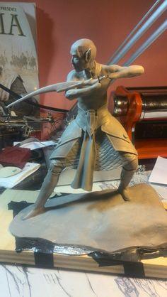 Elf sculpted W.i.p