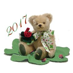 Hermann Spielwaren My Lucky Bear For 2017 #22348-9