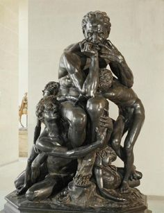 Jean-Baptiste Carpeaux, Ugolino and His Sons, 1860, bronze. The Musée d'Orsay…