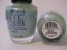 OPI Nail Polish -  MALIBLUE  -  ORIGINAL AUSTRALIAN COLLECTION Black Label- VHTF #OPIOPI