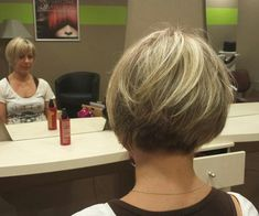 Short bob on fine hair, graduated tightly to a very short nape Click the image now for more info. Graduated Bob Hairstyles, Bob Hairstyles For Fine Hair, Short Bob Haircuts, Short Hairstyles For Women, Cool Hairstyles, Hairstyle Ideas, Short Graduated Bob, Pinterest Hairstyles, Style Hairstyle