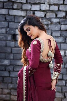 Searching for Hairstyles with Suits ? Try These Hairstyles with Suit Salwar and Hairstyles with Indian Suits will make your Looks more Beautiful Punjabi Hairstyle With Suit, Jassi Gill Hairstyle, Hairstyle Look, Punjabi Hairstyles, Girl Hairstyles, Wedding Hairstyles, Punjabi Girls, Punjabi Suits, Red Colour Dress