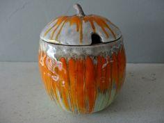 Halloween Gifts, Phoenix, Lion, Pumpkin, Jar, Antiques, Store, Vintage, Design